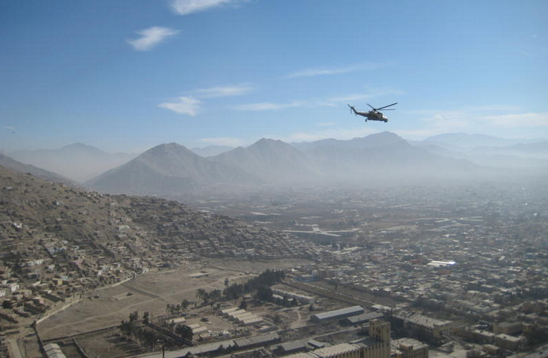 Kabul from above